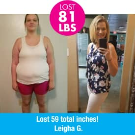 First Fitness Nutrition Get Suddenly Slim testimonial lost 81 pounds