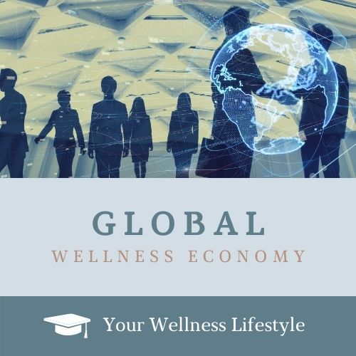 people from around the world participating in the global wellness economy